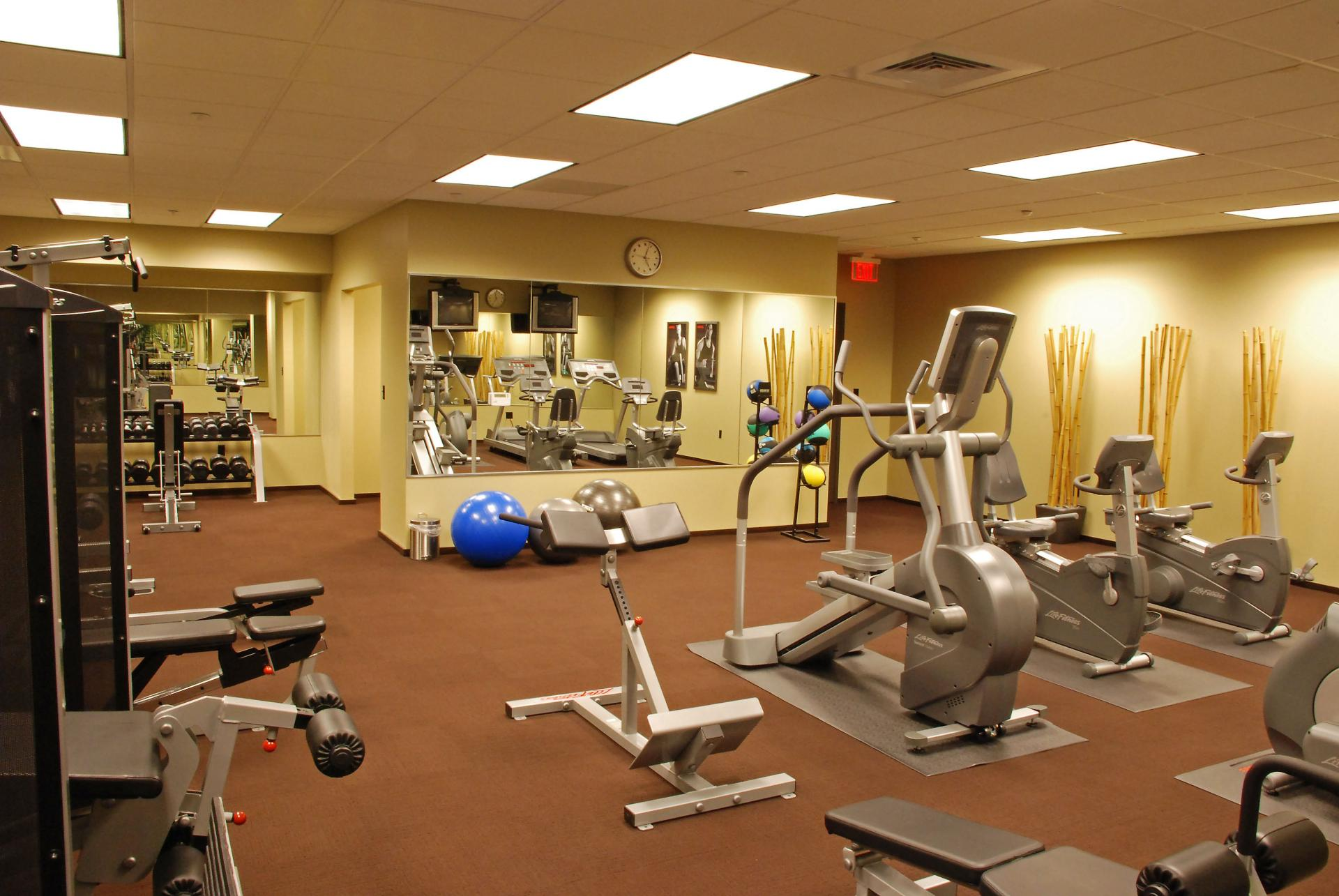 Gym at The Orion Apartments