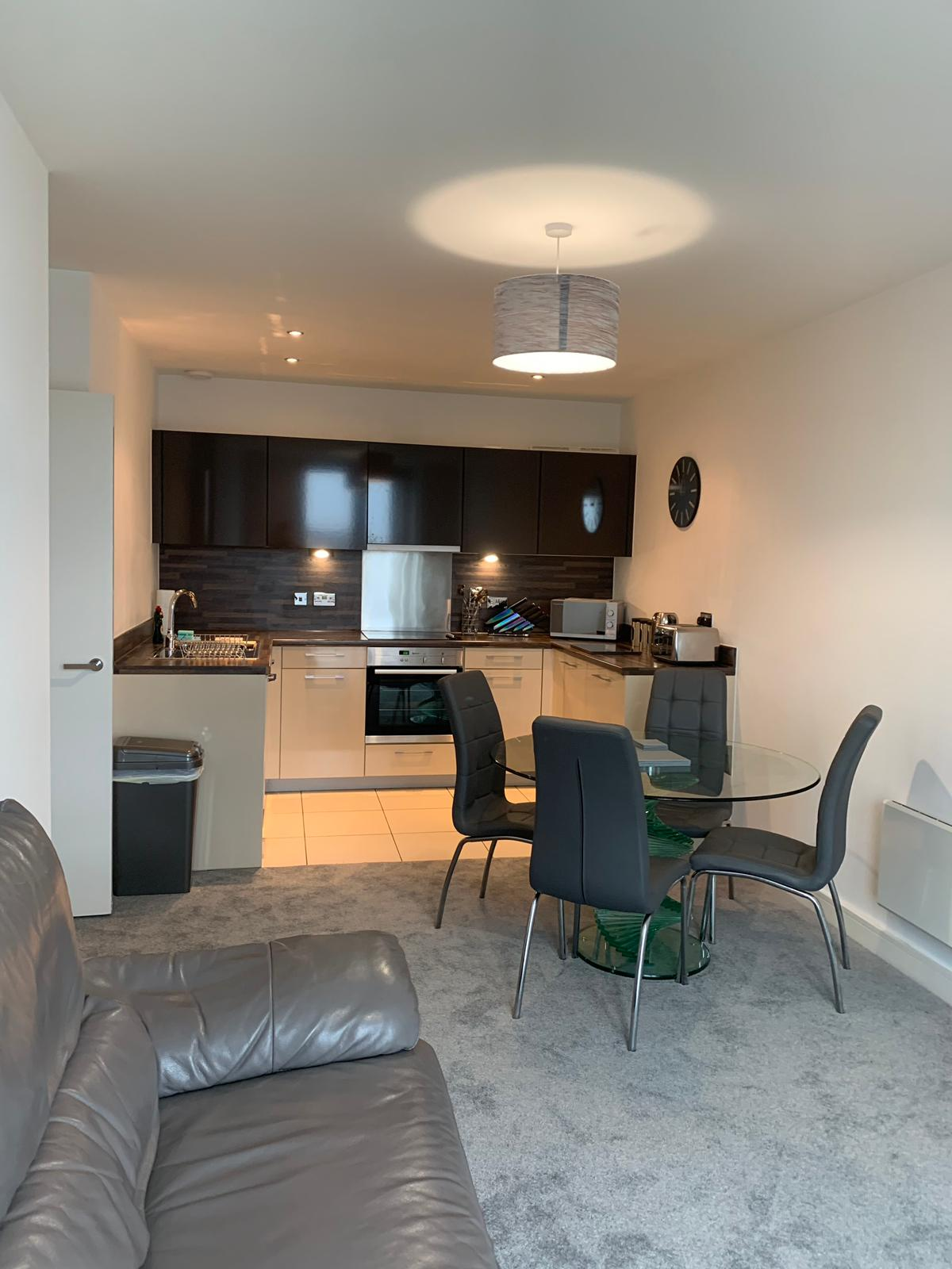 Dining table at KD Tower Serviced Apartments