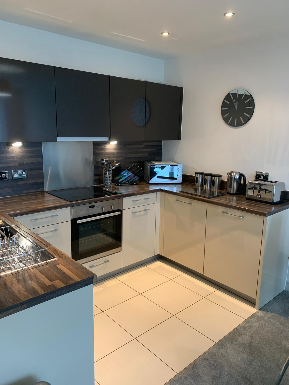Kitchen at KD Tower Serviced Apartments