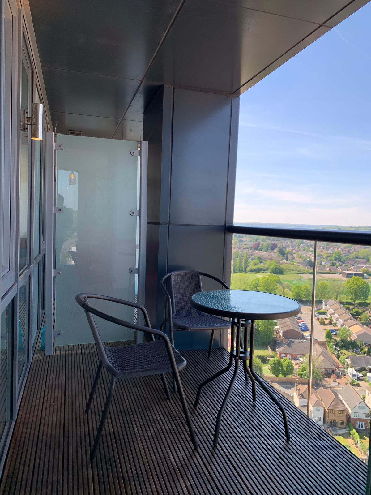 Balcony at KD Tower Serviced Apartments