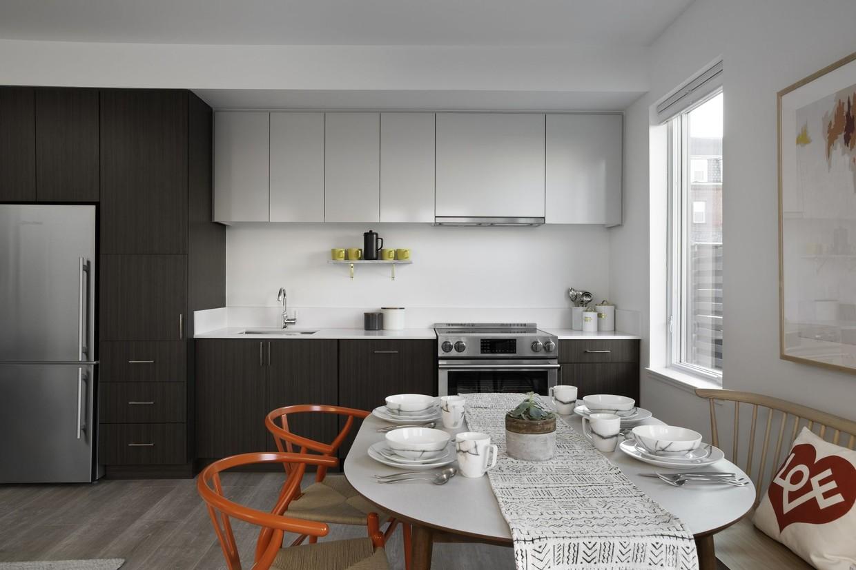 Kitchen at Union House Apartment