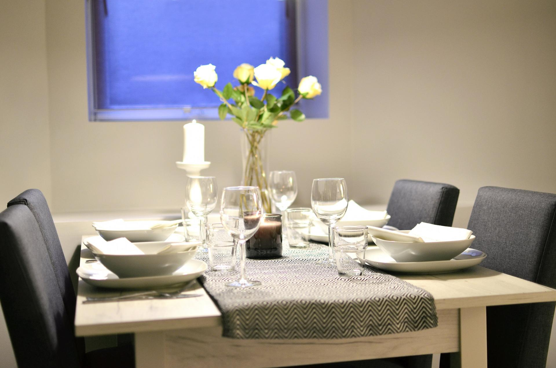 Dining table at Observatoriegate Apartments
