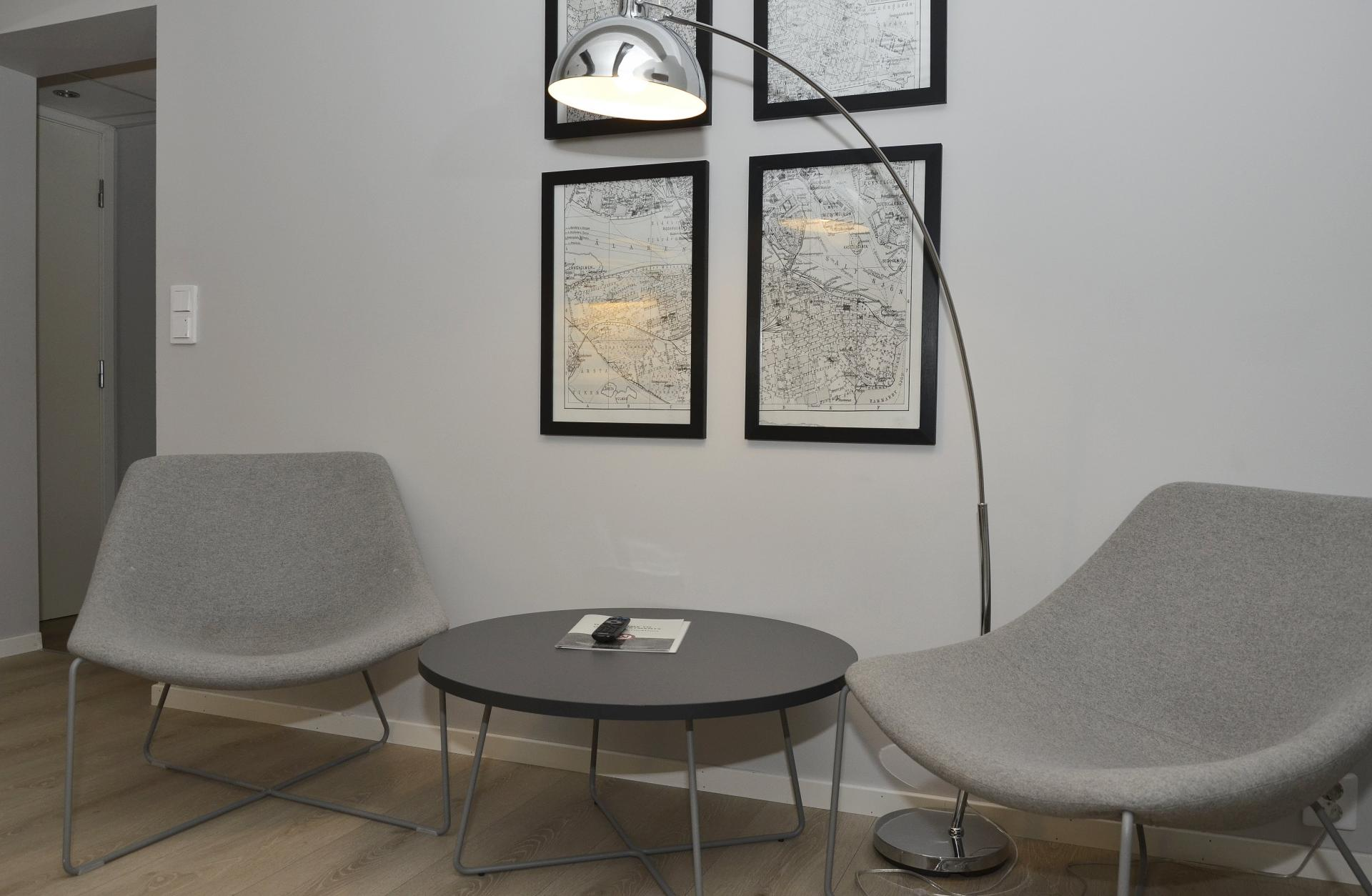 Seating area at Observatoriegate Apartments