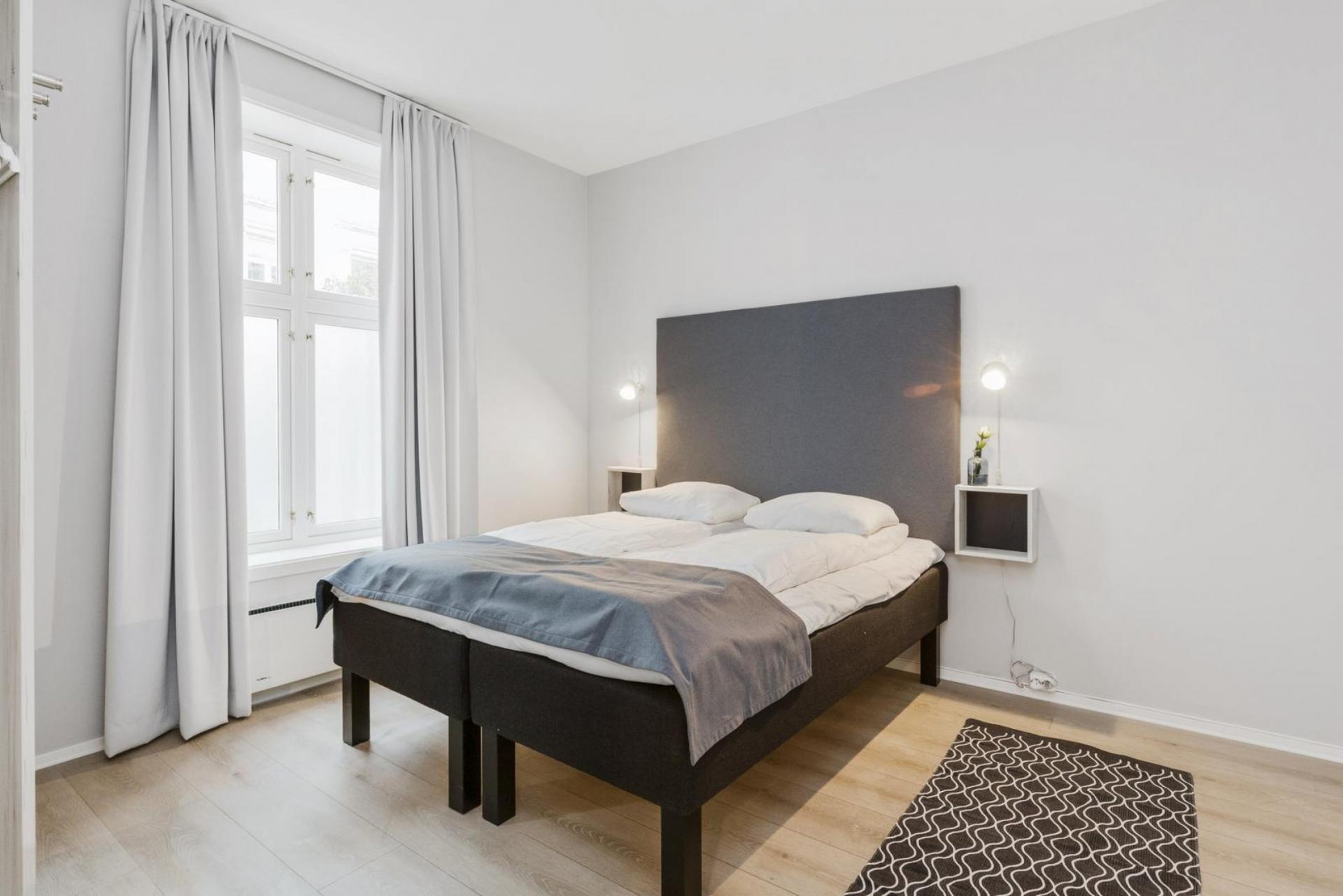 Cosy bedroom at Observatoriegate Apartments