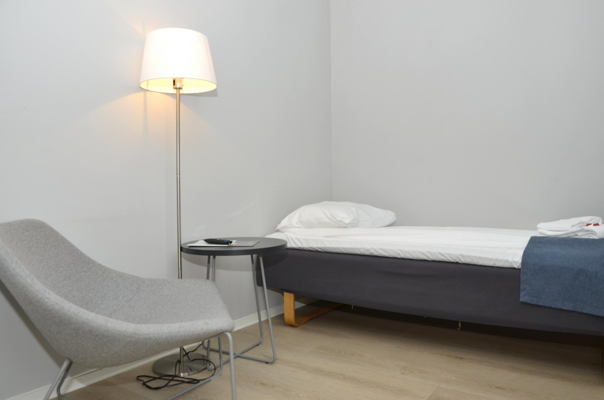 Single bed at Observatoriegate Apartments