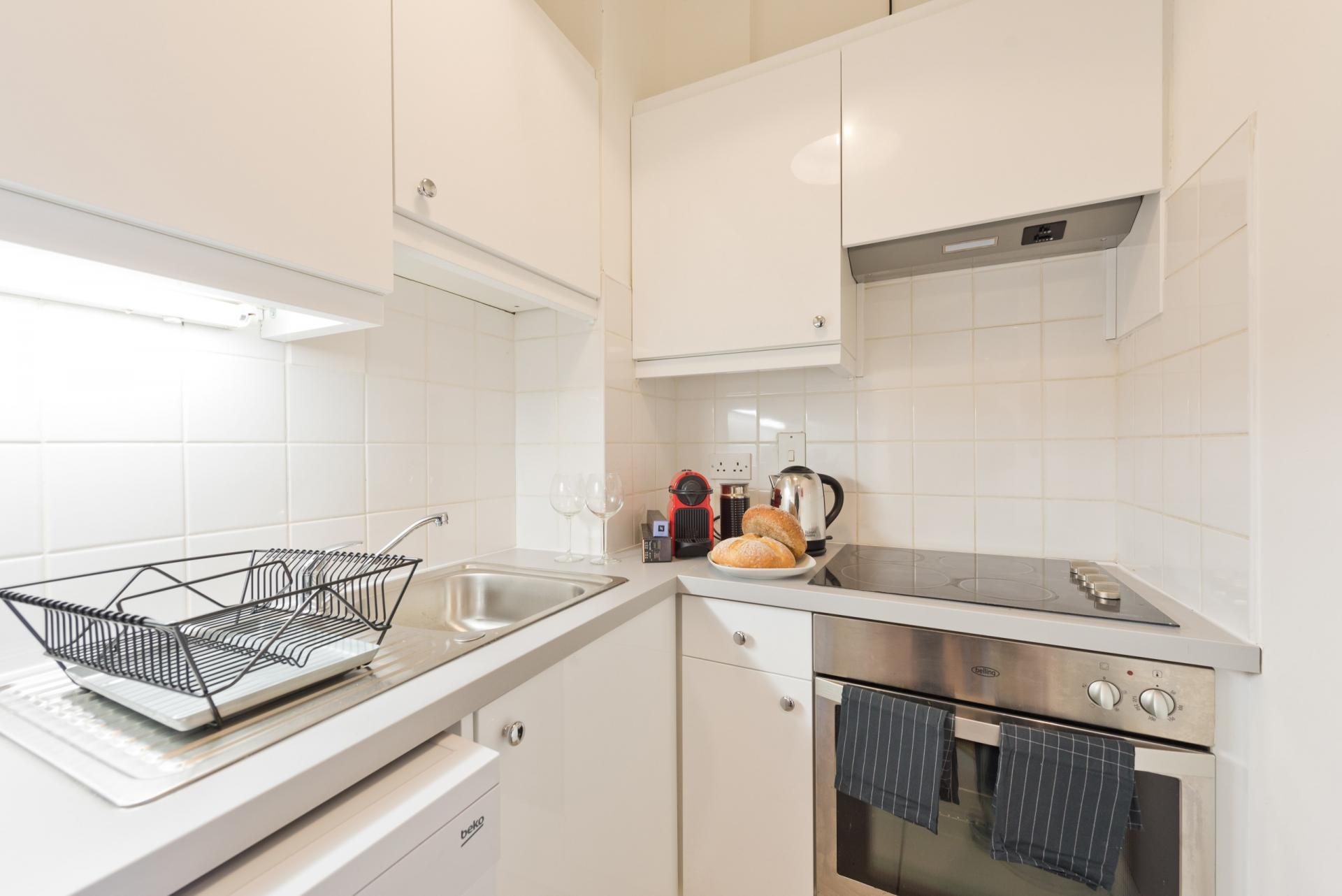 Kitchen at Georges Street Apartment