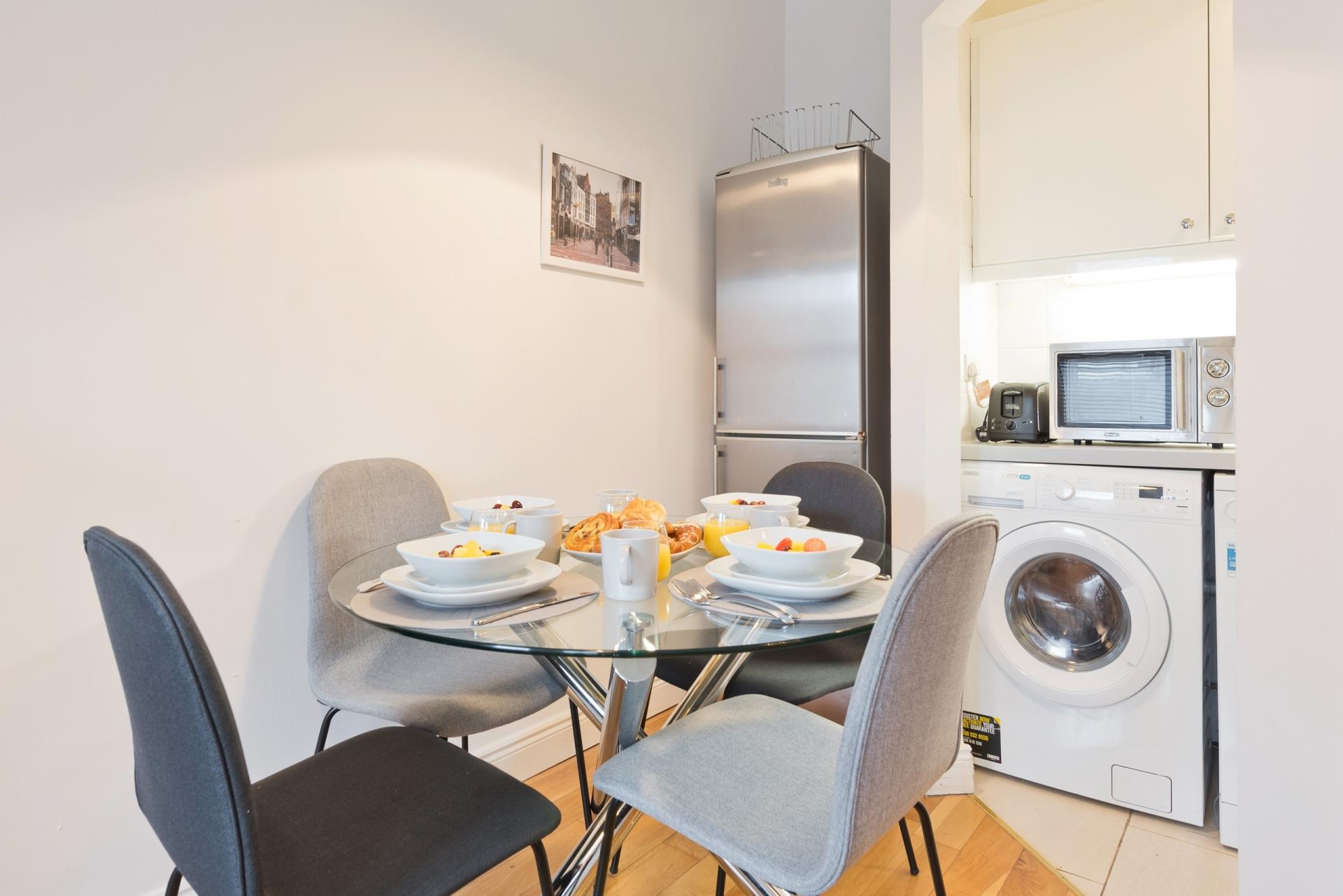 Dining Area at Georges Street Apartment
