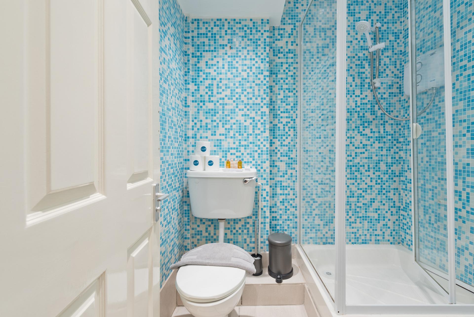 Bathroom at Georges Street Apartment