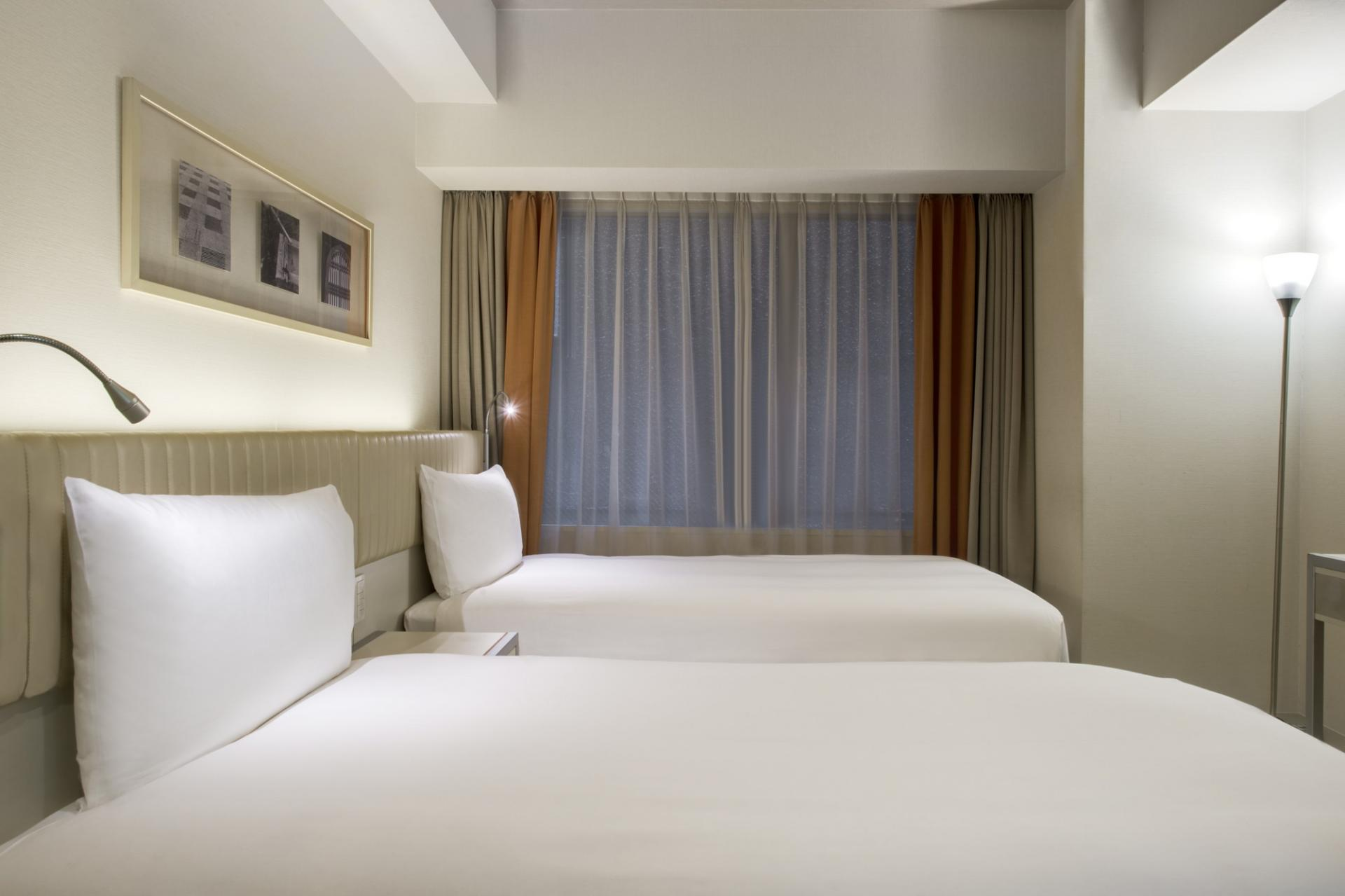Bedroom at Citadines Karasuma-Gojo Kyoto Apartments
