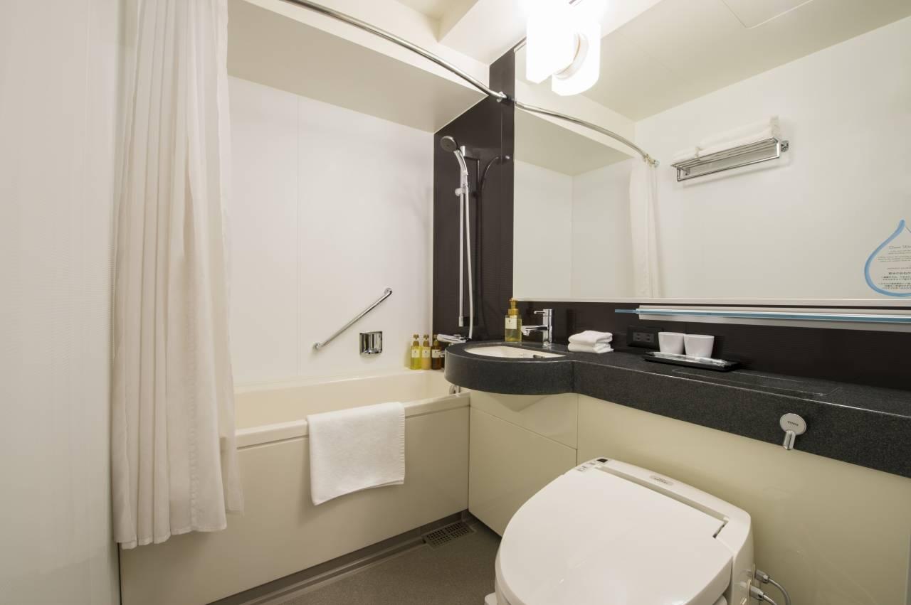 Bathroom at Citadines Karasuma-Gojo Kyoto Apartments