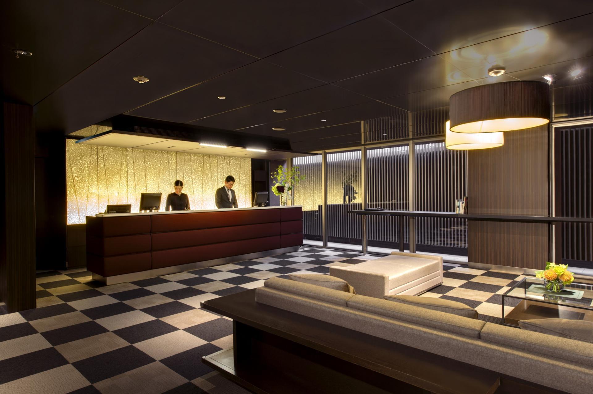 Reception at Citadines Karasuma-Gojo Kyoto Apartments