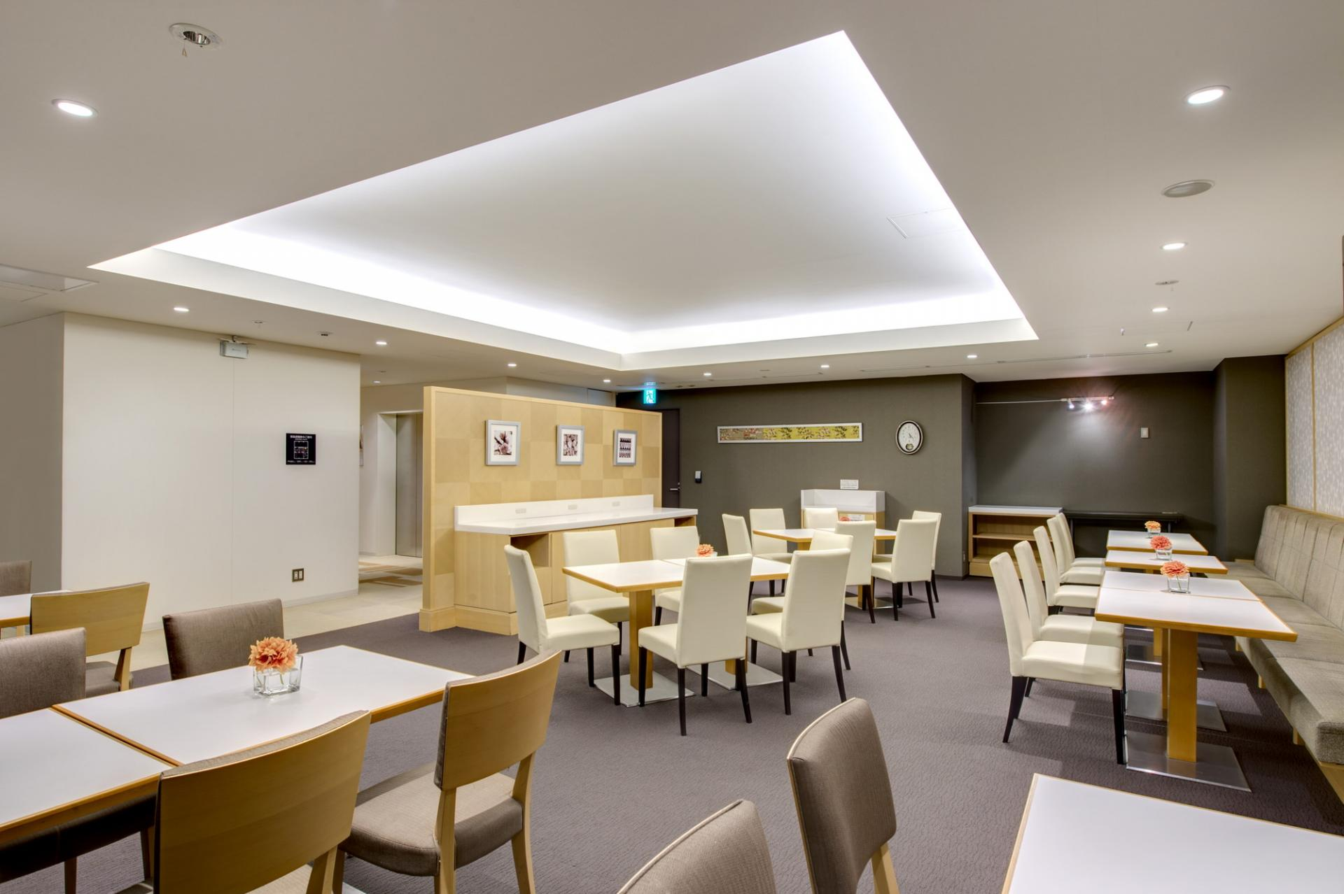 Breakfast lounge at Citadines Karasuma-Gojo Kyoto Apartments