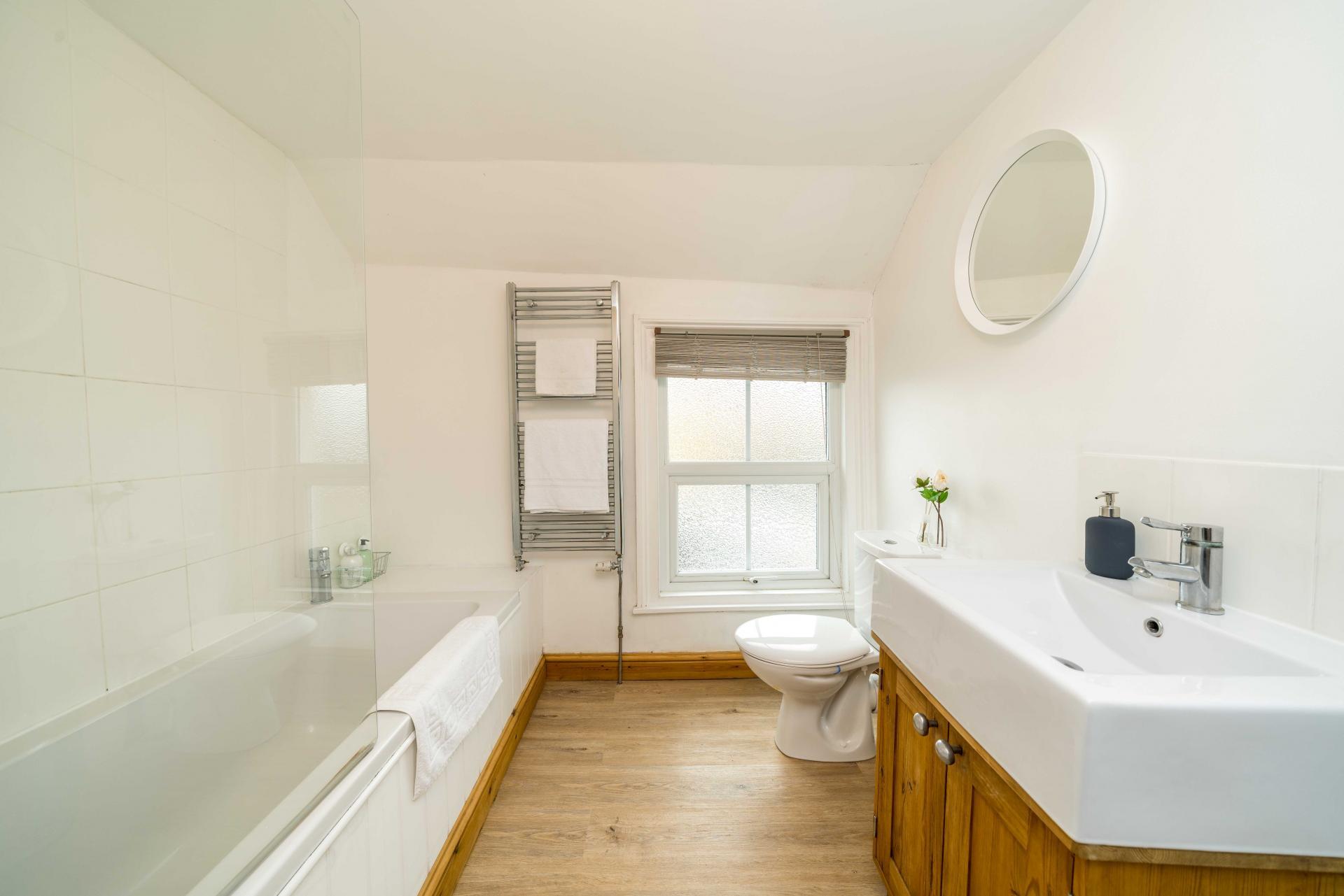 Bathroom at Stocks Hill House