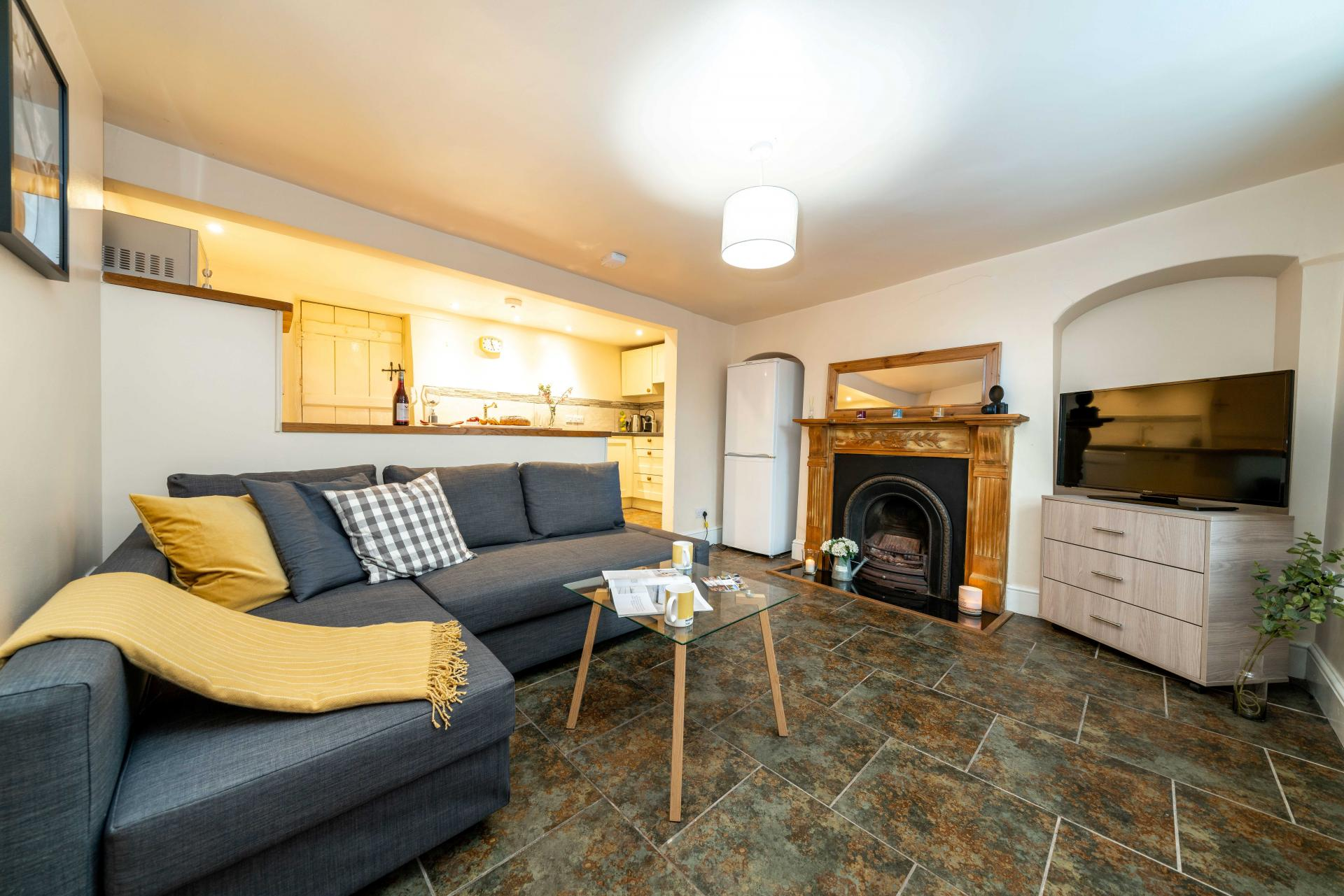 Open-plan at Stocks Hill House