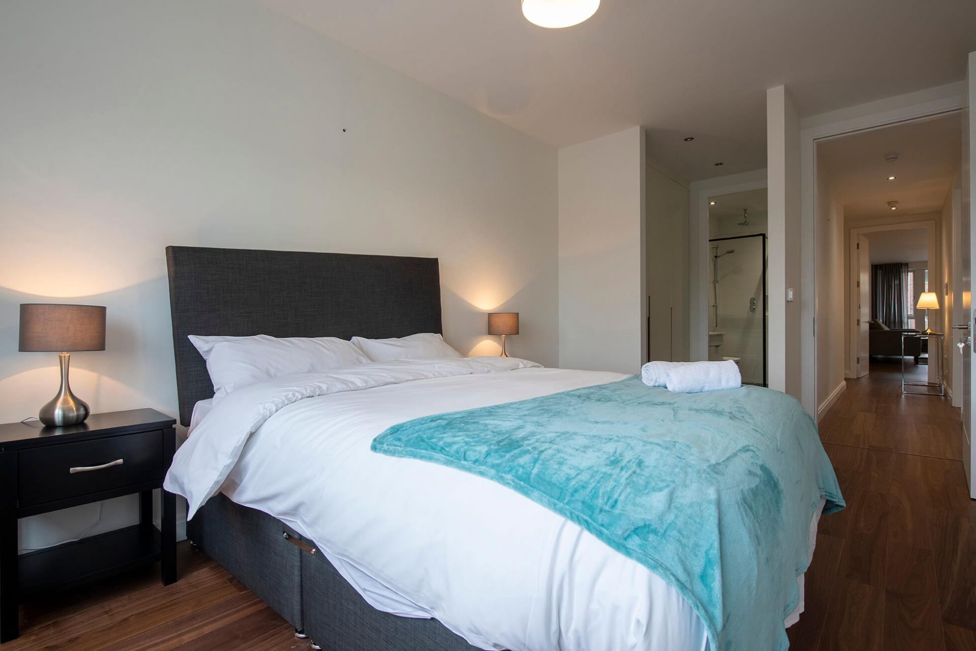Bedroom at Fernbank Apartments