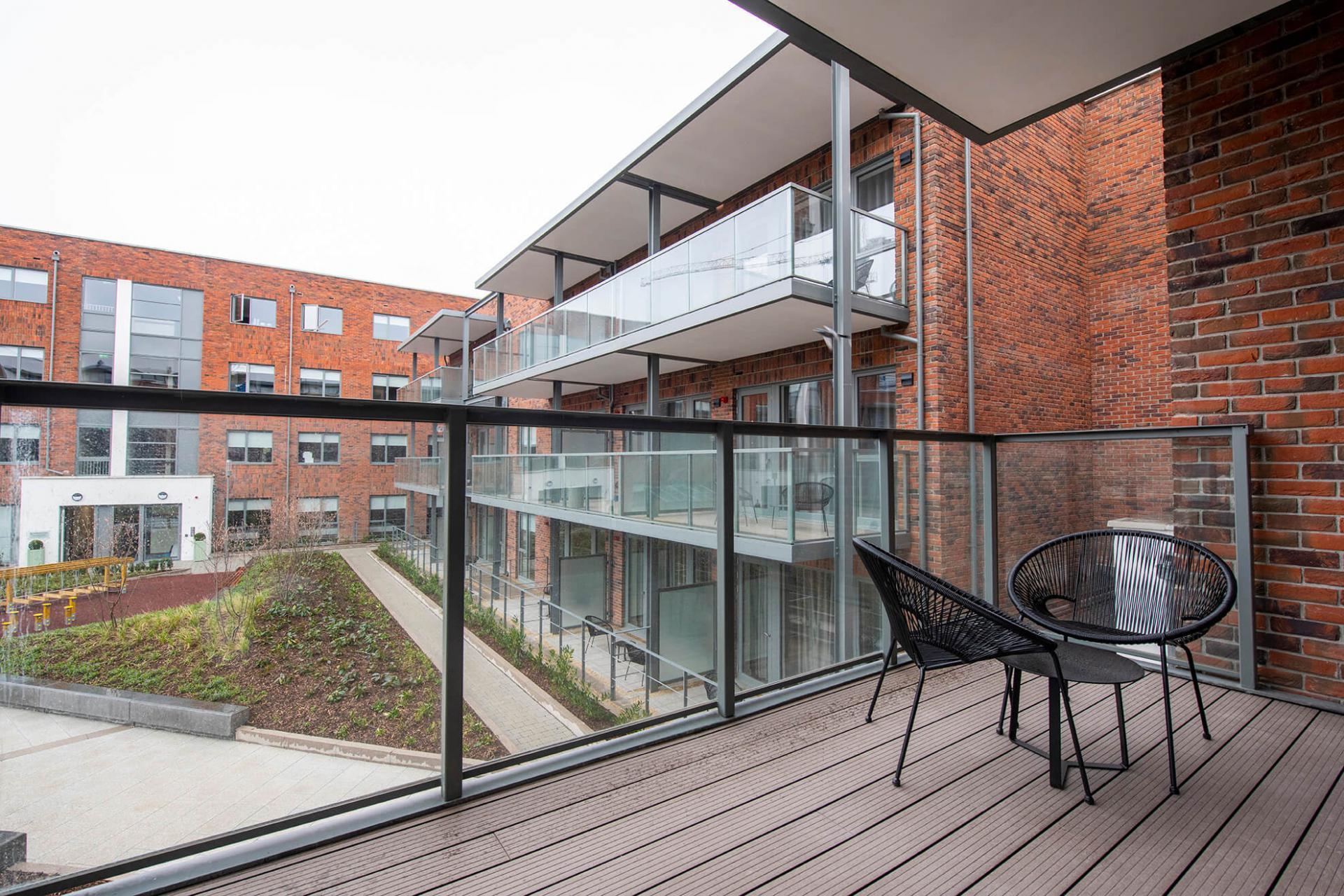 Balcony at Fernbank Apartments