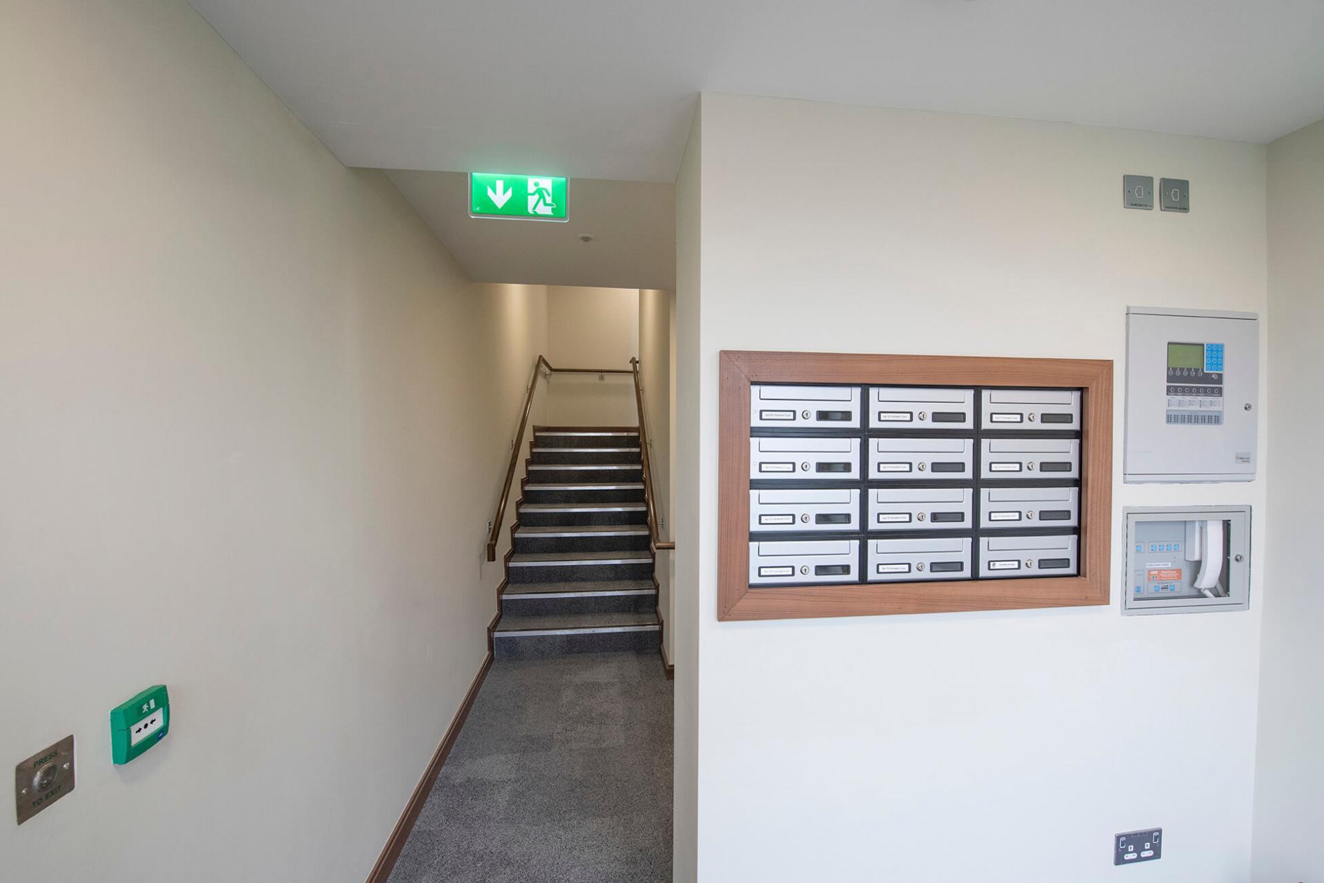 Hallway at Fernbank Apartments