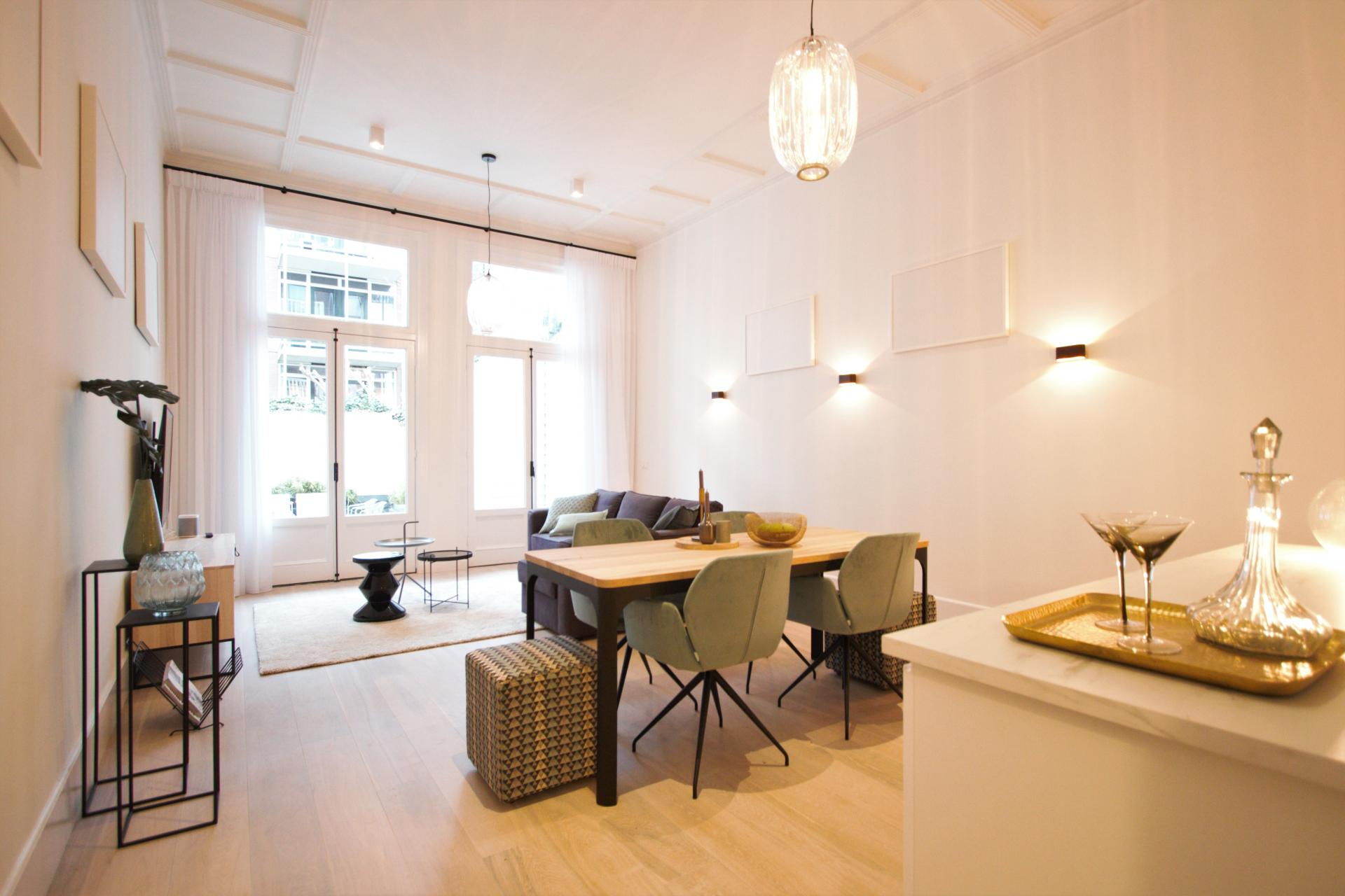 Living area at Frederiks Square Serviced Apartments, Amsterdam