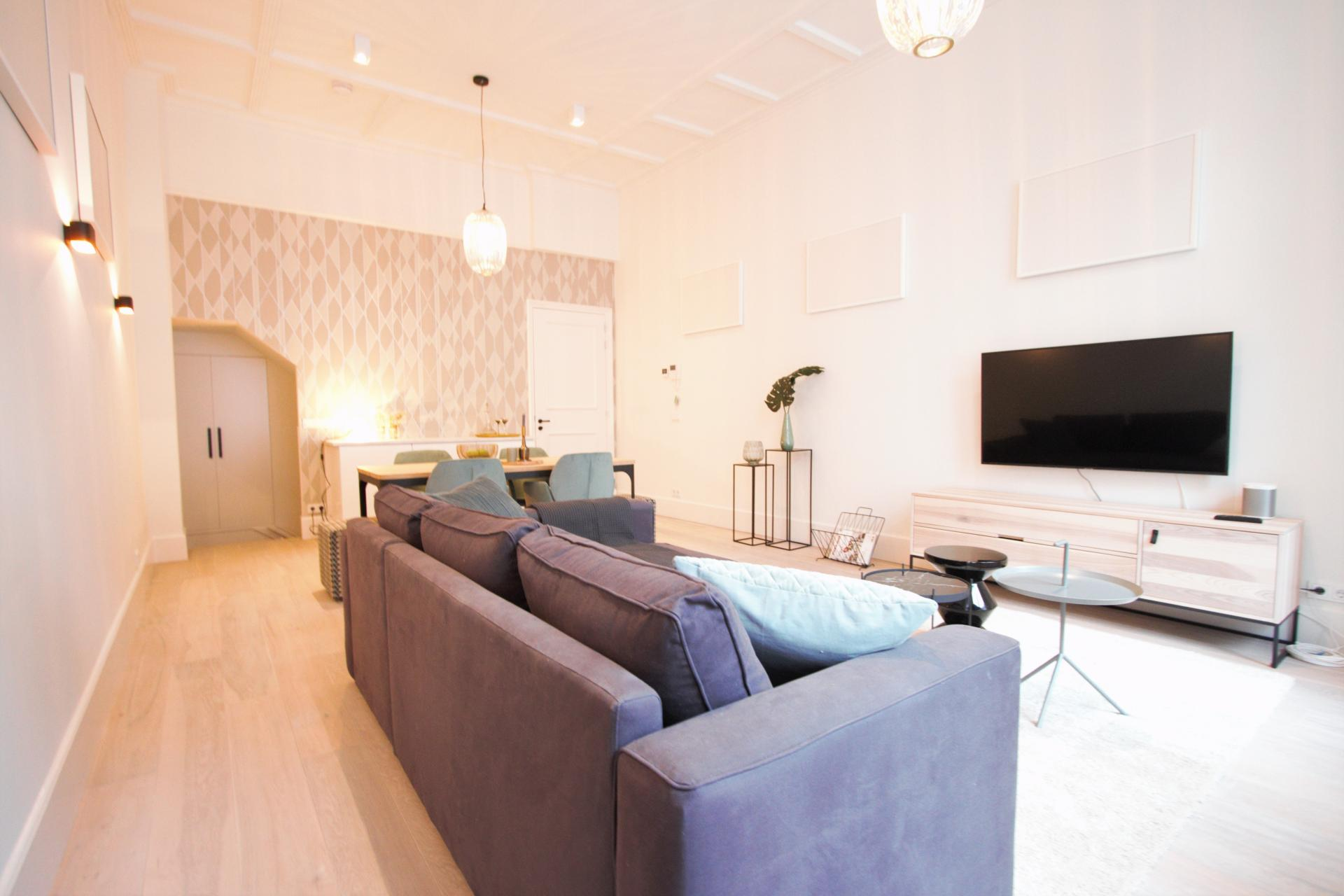Living room at Frederiks Square Serviced Apartments, Amsterdam