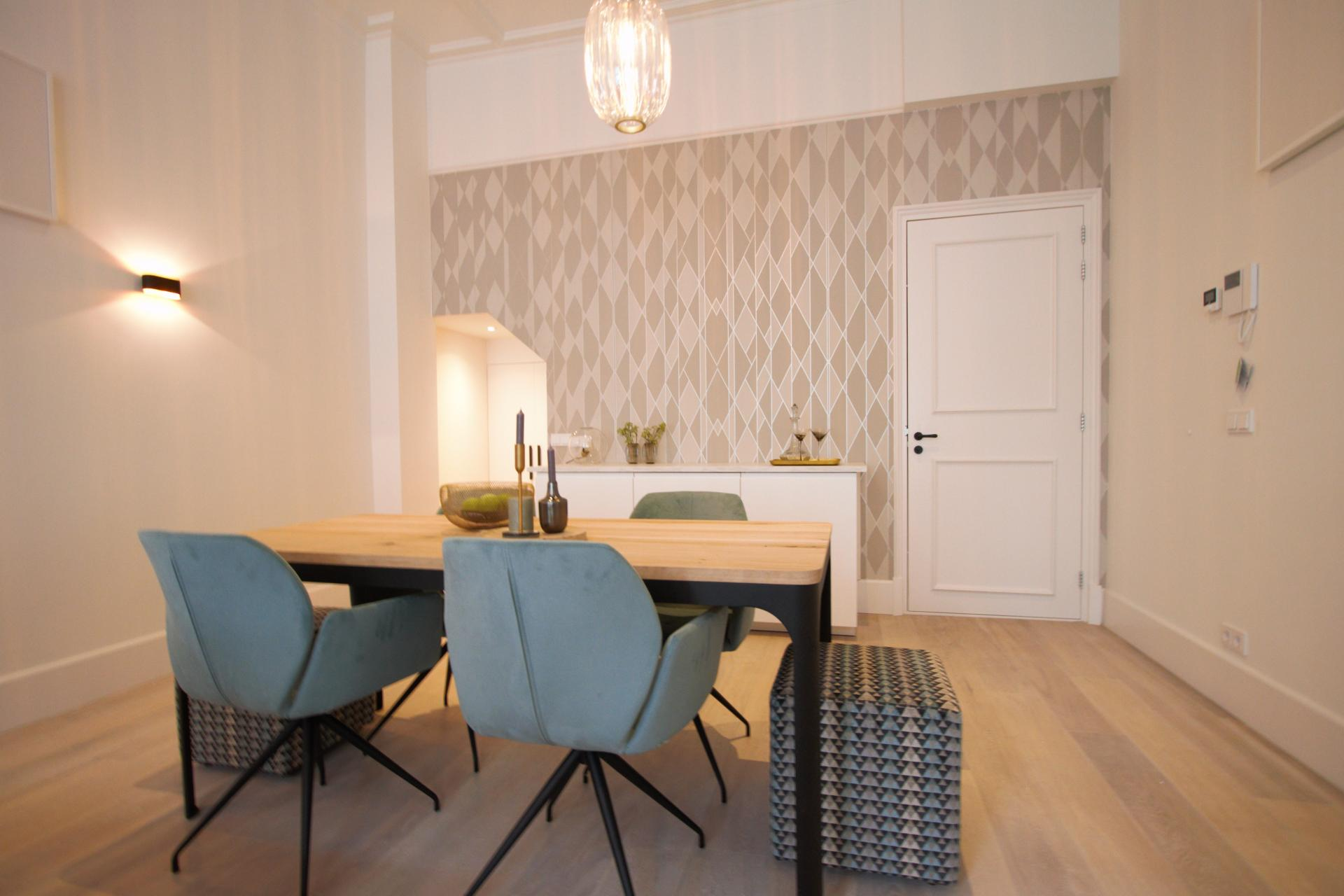 Dining area at Frederiks Square Serviced Apartments, Amsterdam
