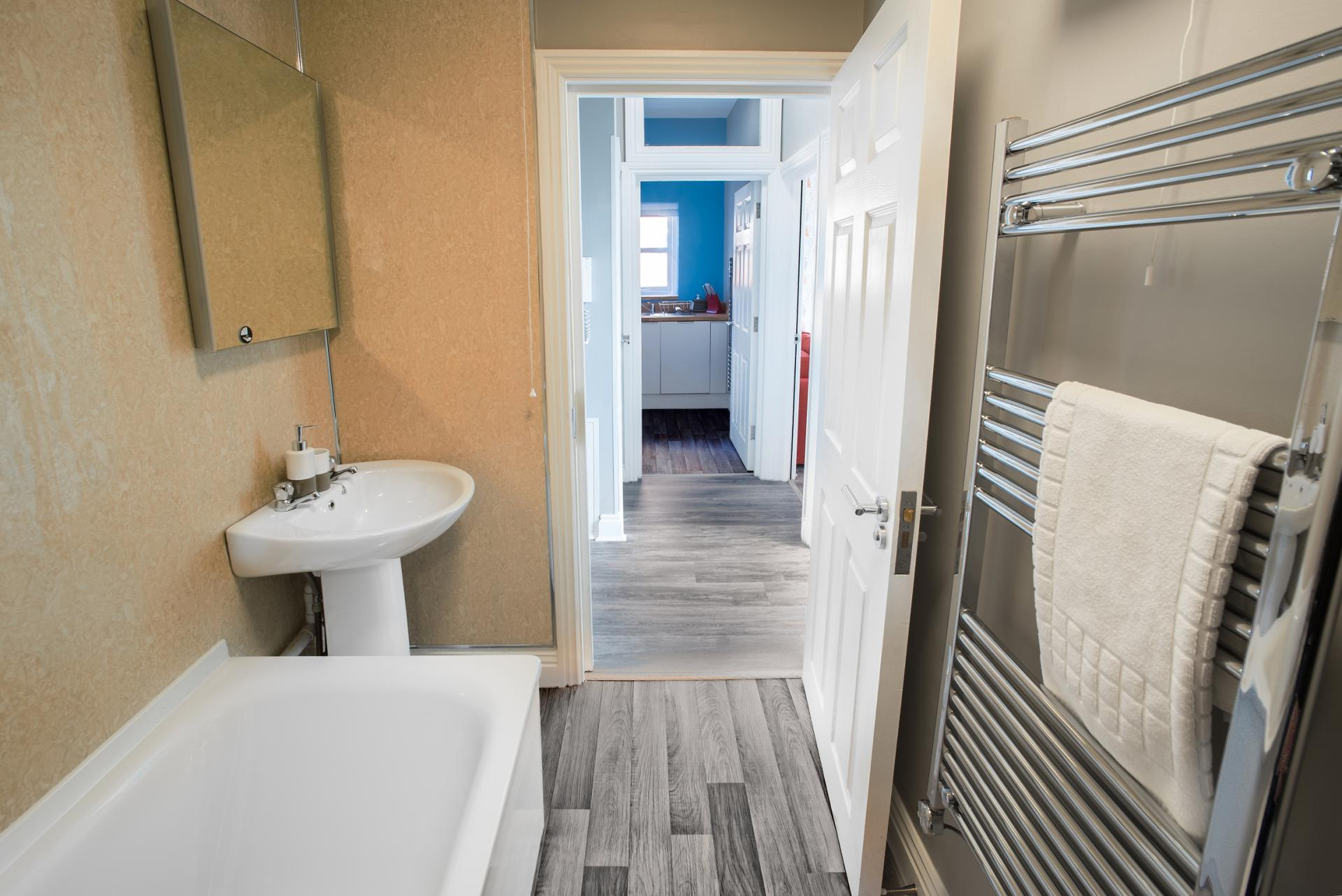 Bath at Chine Garden Apartment