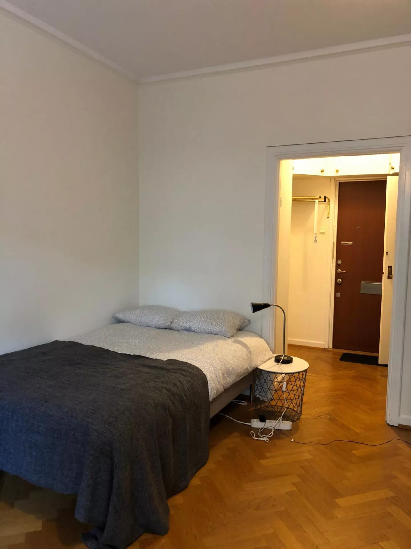Bedroom at Viktor Rydbergsgatan Apartment, Johanneberg, Gothenburg