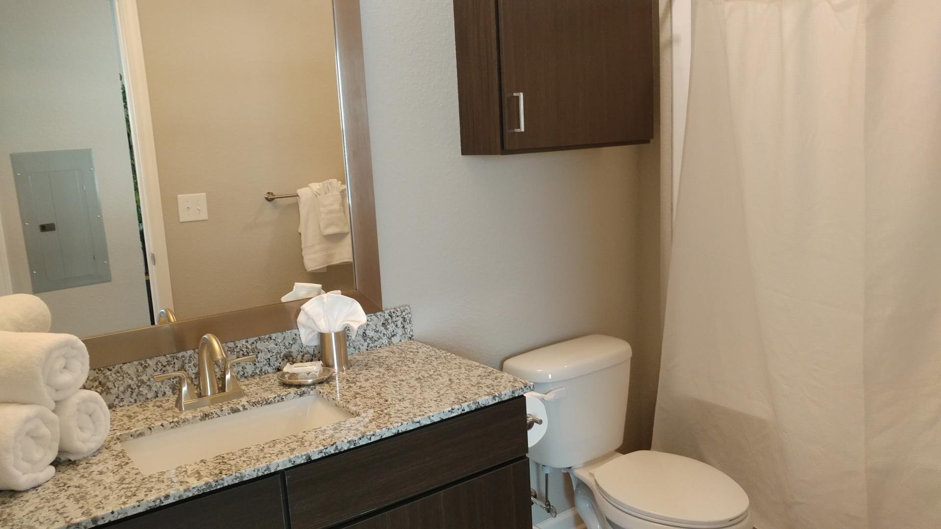 Bathroom at Watermark at Chesterfield Village Apartments