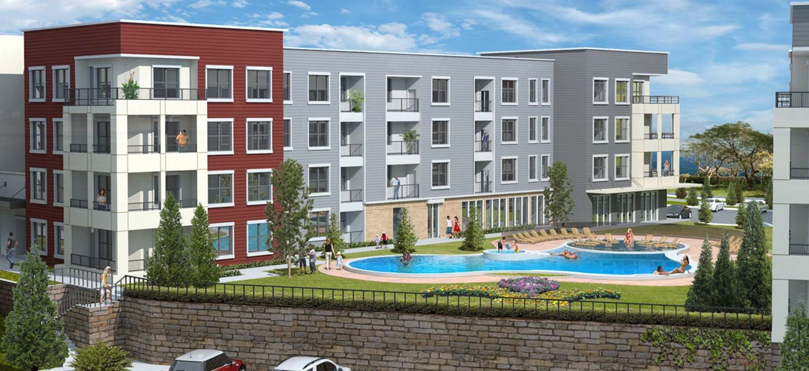 Exterior at Watermark at Chesterfield Village Apartments