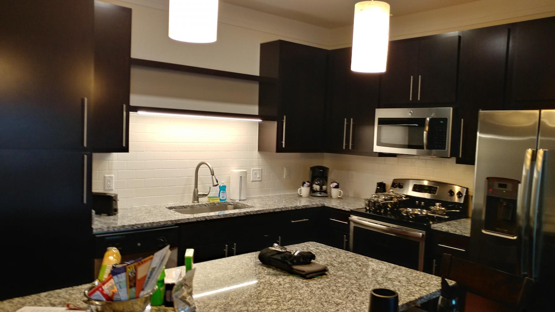 Kitchen at Vanguard Heights Apartments