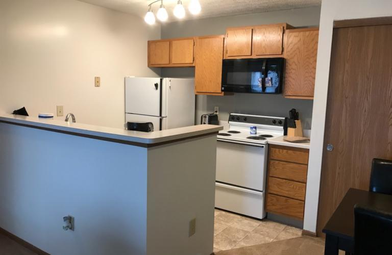 Kitchen at Millstream Village Apartment, Centre, Reynoldsburg