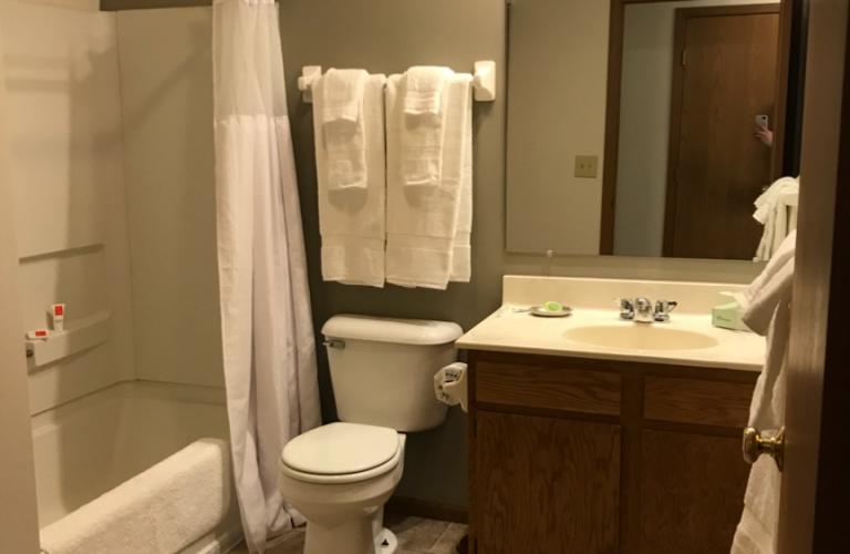 Bathroom at Millstream Village Apartment, Centre, Reynoldsburg