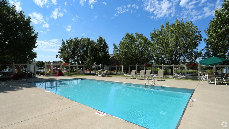 Pool at Millstream Village Apartment, Centre, Reynoldsburg