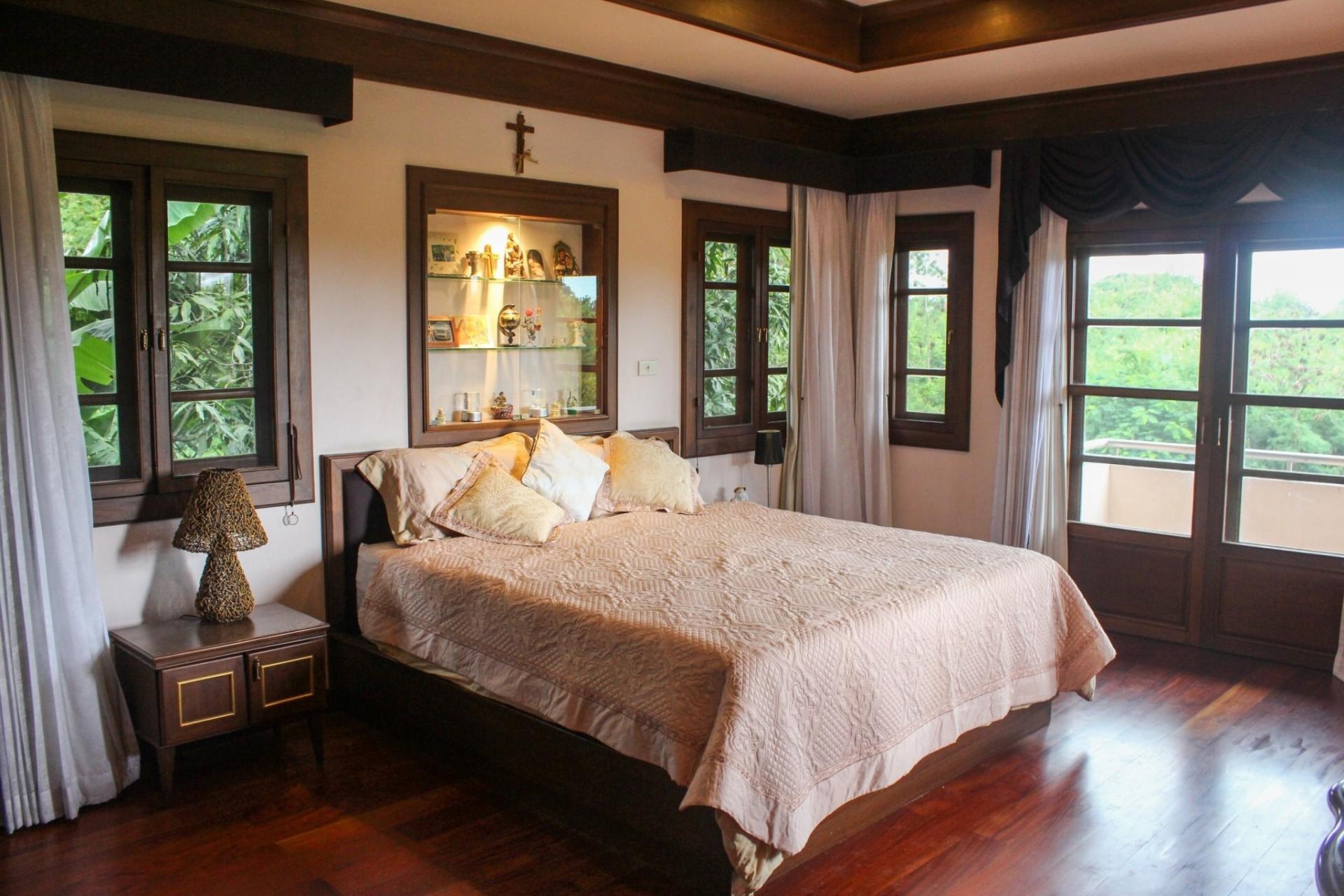 Master bedroom at Bosang Villa, San Kamphaeng, Chiang Mai