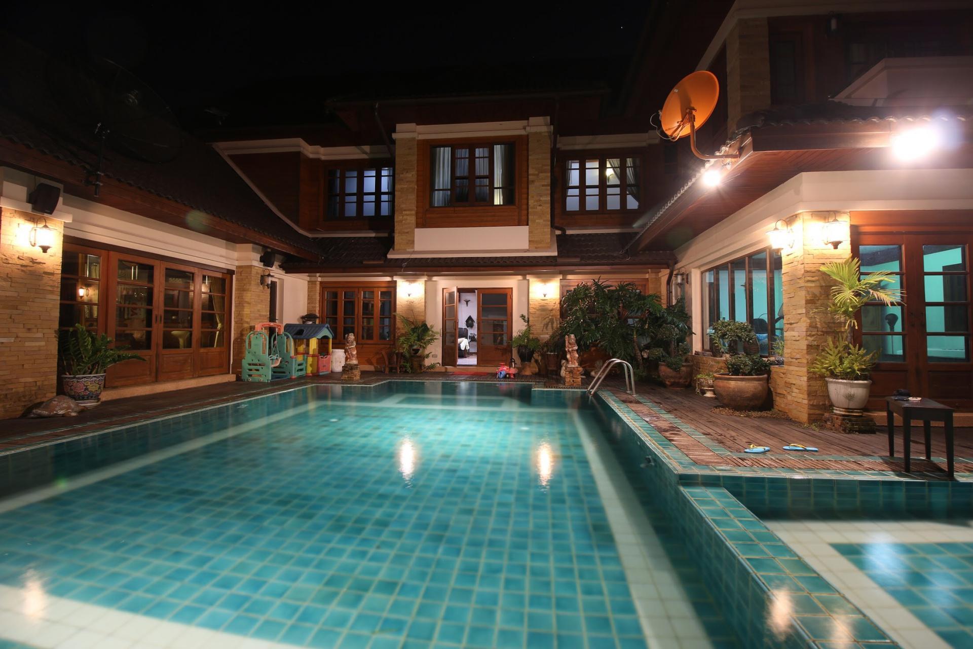 Salted Pool at Bosang Villa, San Kamphaeng, Chiang Mai