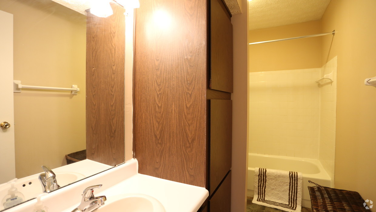 Bathroom at McMillen Wood Apartment