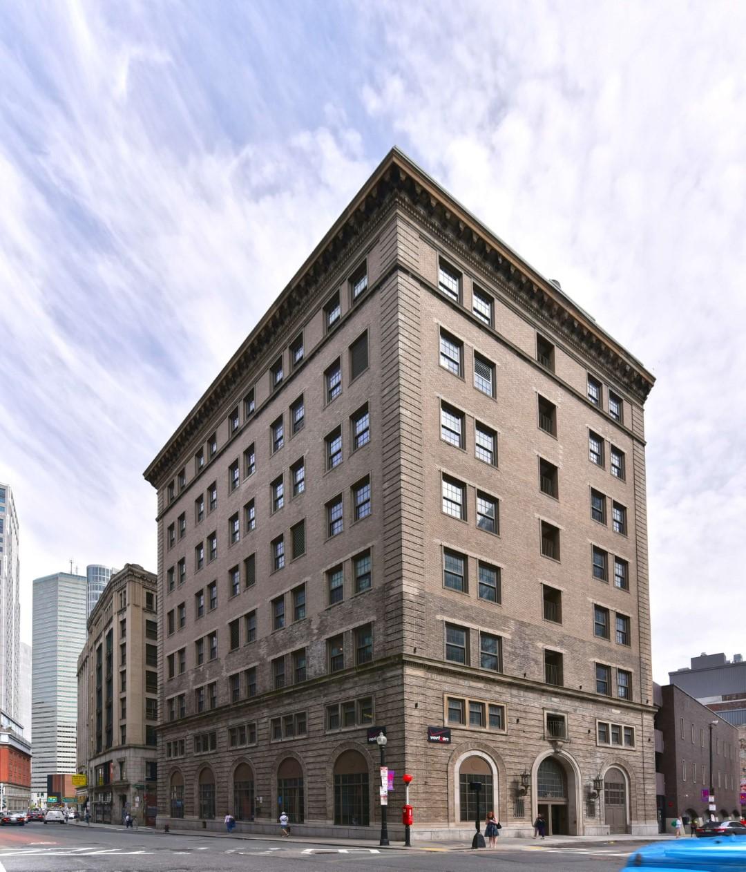 Exterior at 8 Harrison Apartments, Centre, Boston