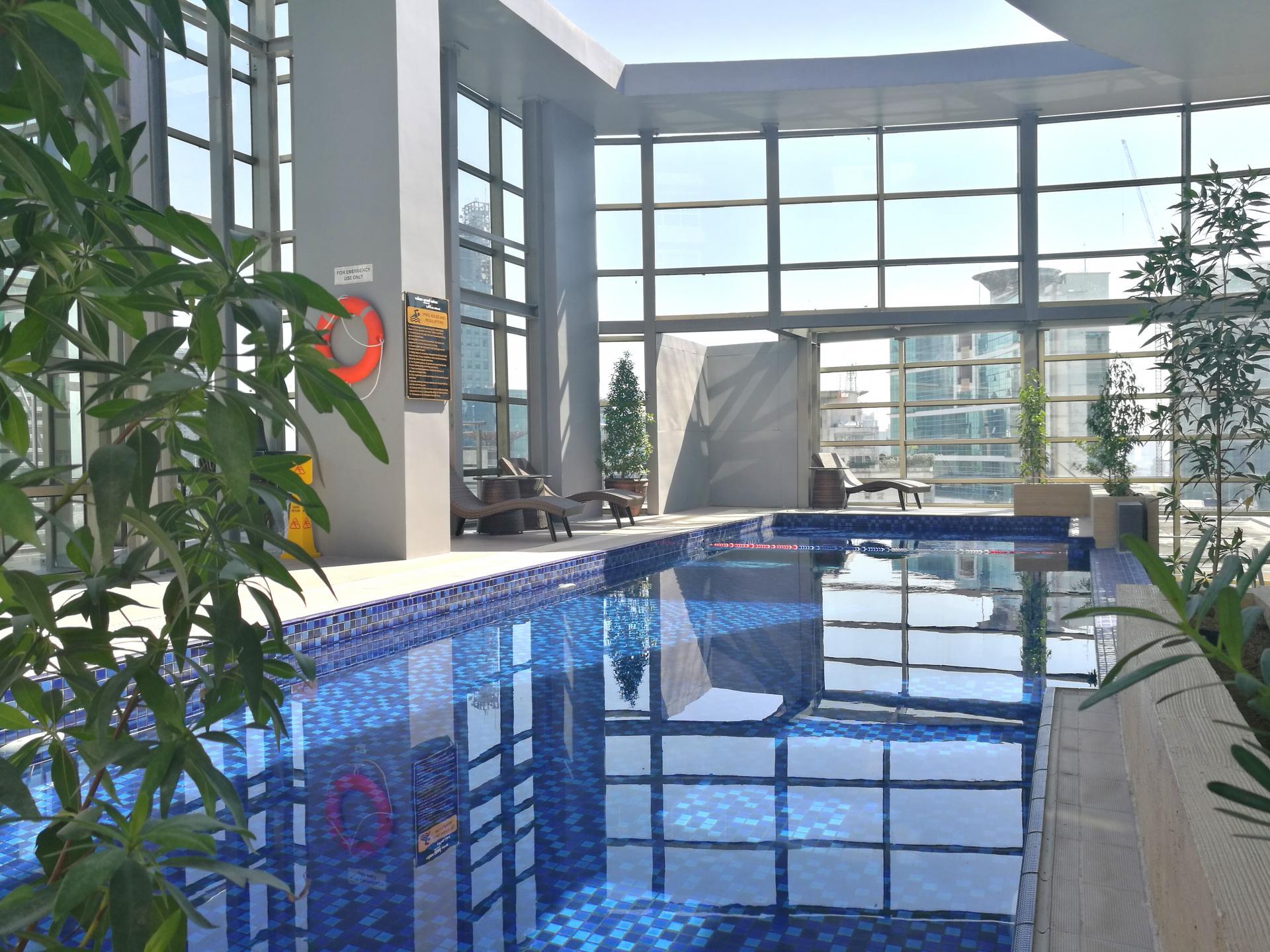 Pool at Valero Grand Suites