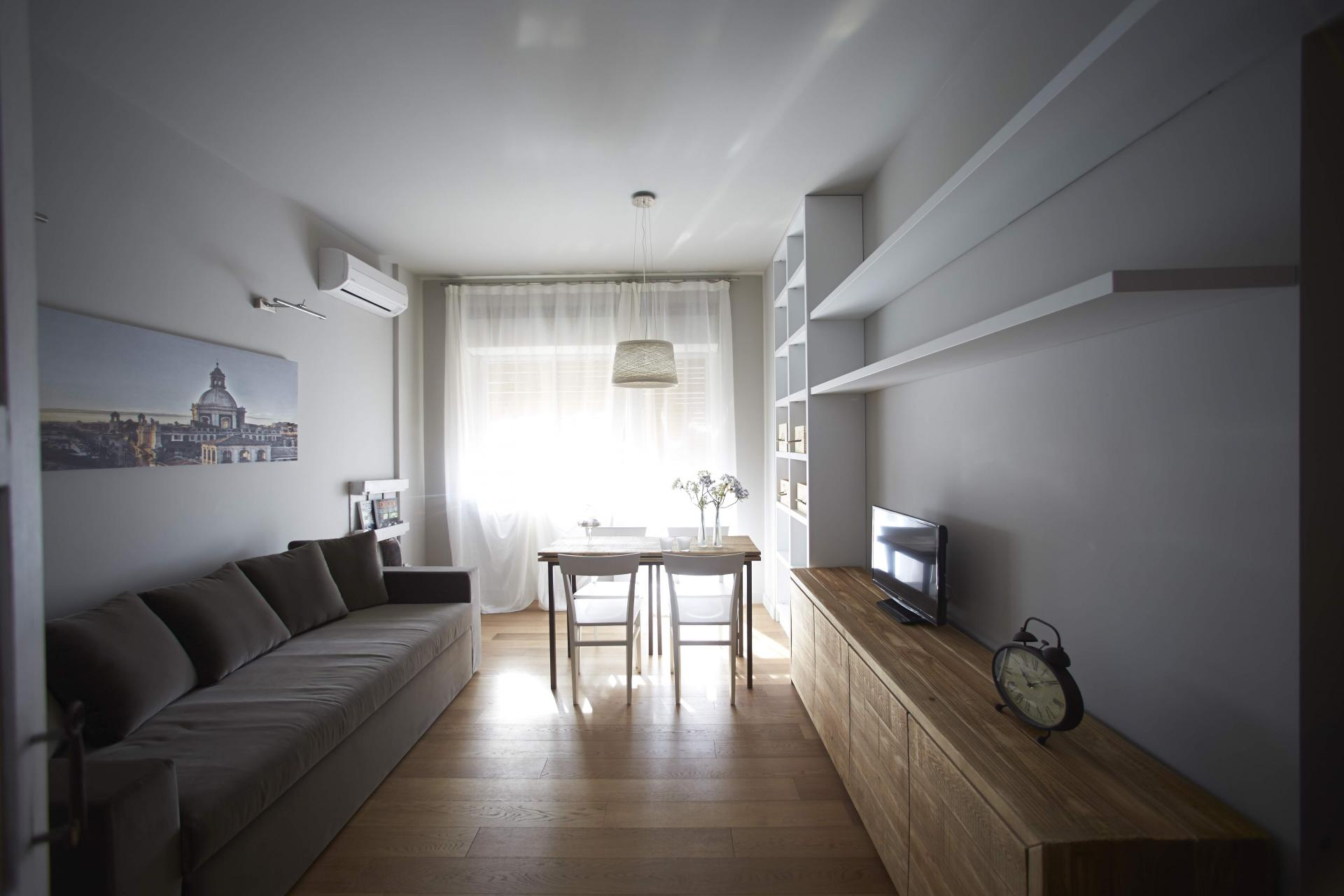 Living area at Suites Serviced Apartments