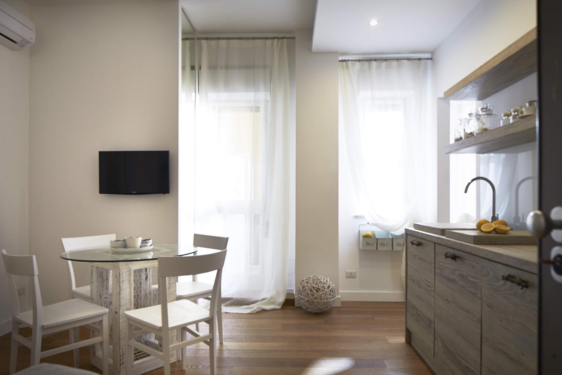 Kitchenette at Suites Serviced Apartments