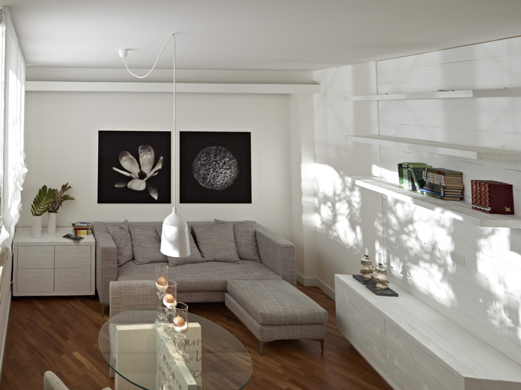 Living room at Piazzo Trento Apartments