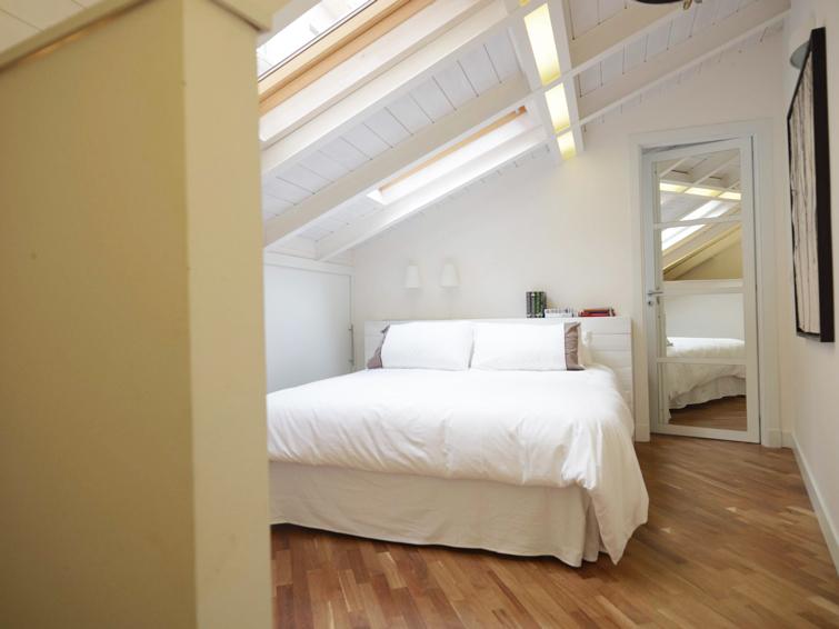 Bedroom at Piazzo Trento Apartments
