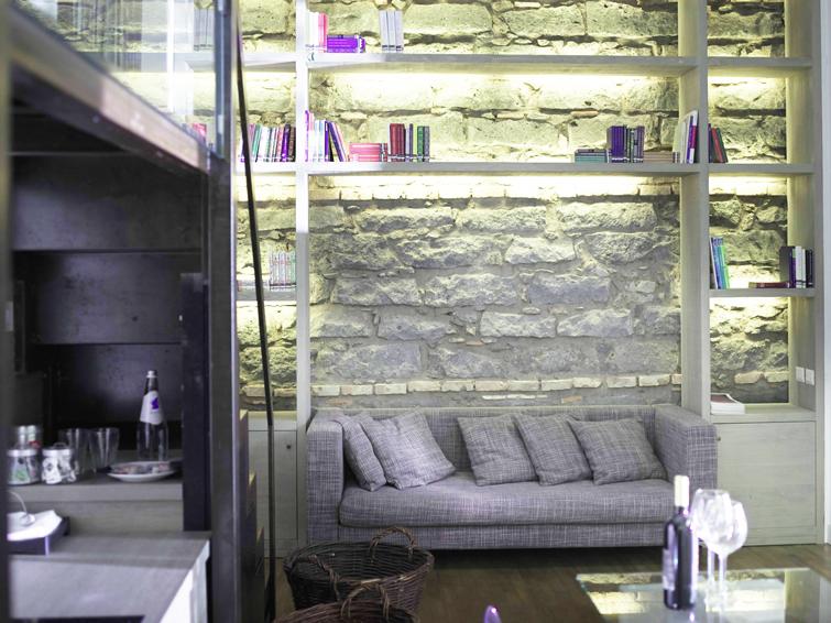 Sofa at Piazzo Trento Apartments