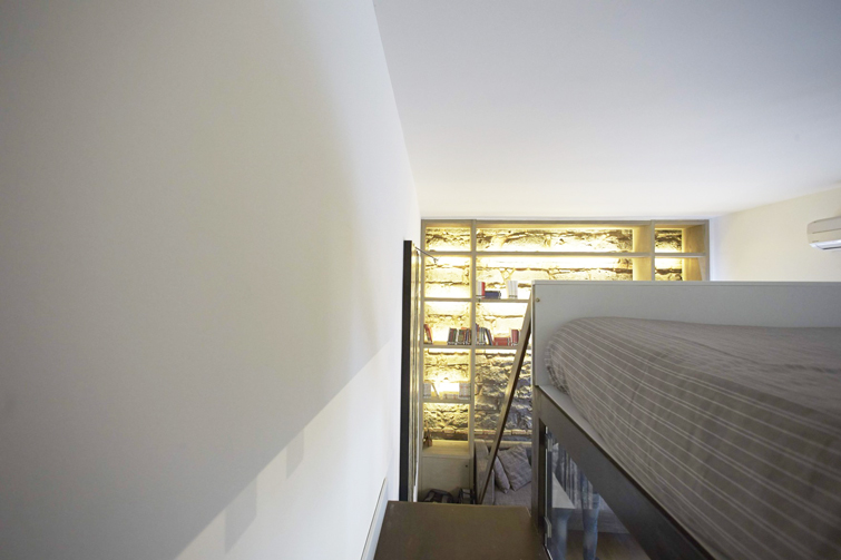 Stair at Piazzo Trento Apartments