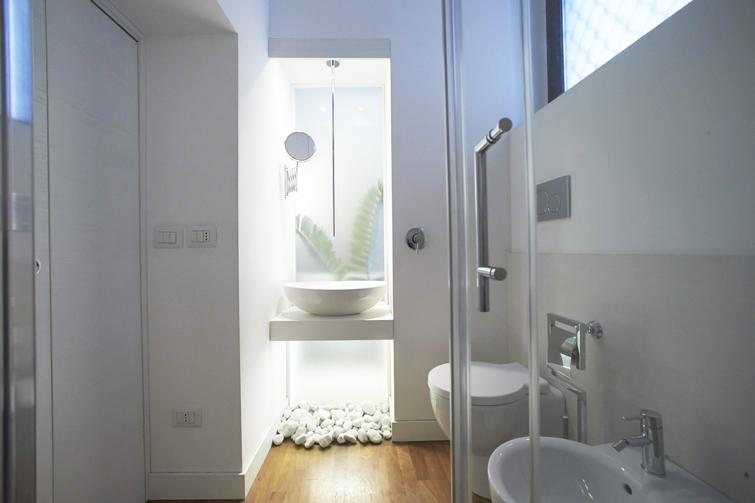 Bathroom at Piazzo Trento Apartments