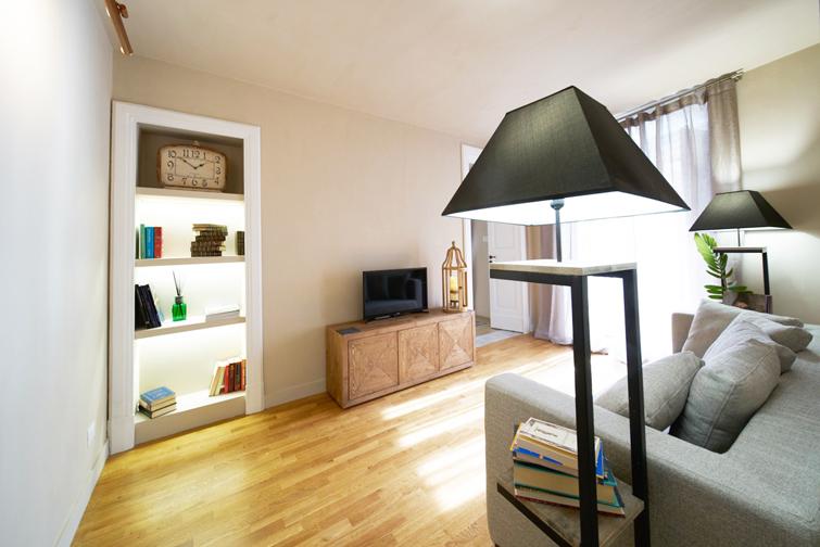 TV at Piazzo Trento Apartments