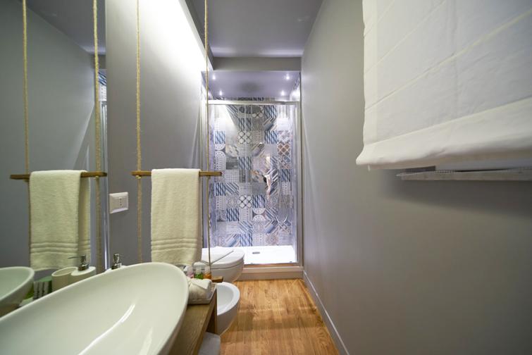 Bath at Piazzo Trento Apartments