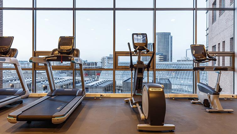 Gym at Citadines Sloterdijk Station Apartments, Amsterdam