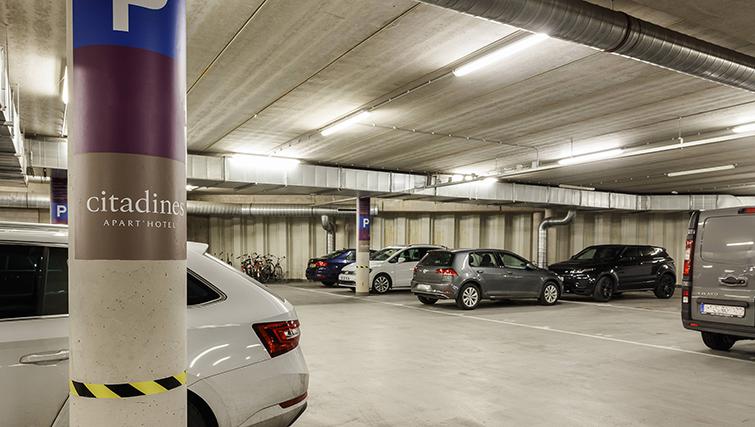 Parking at Citadines Sloterdijk Station Apartments, Amsterdam