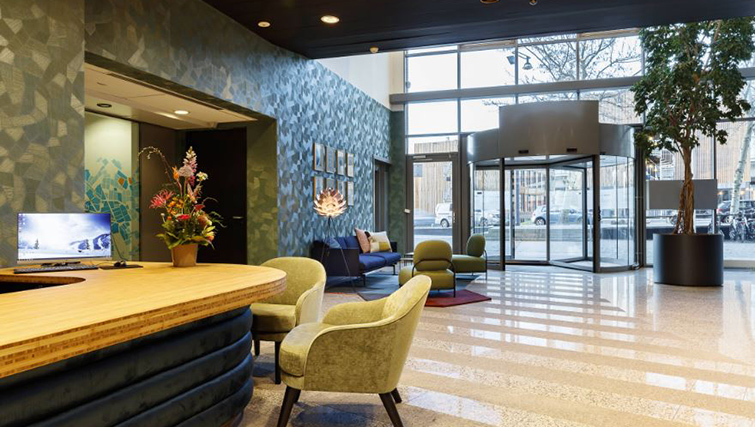 Lobby at Citadines Sloterdijk Station Apartments, Amsterdam