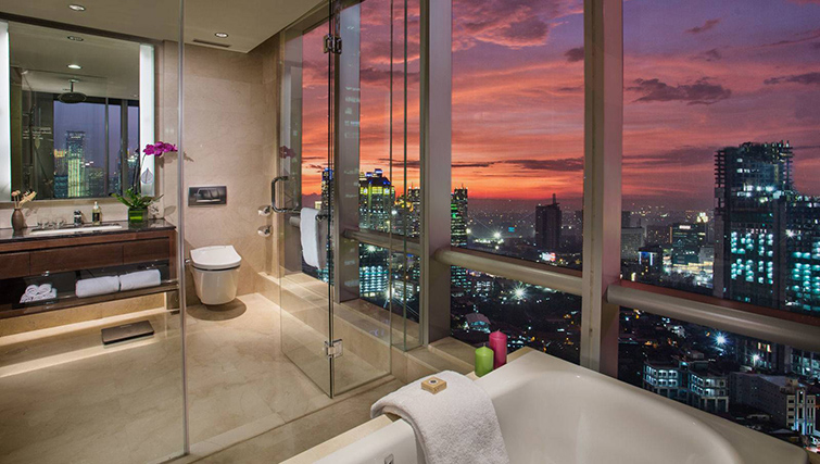 Bathroom at Ascott Kuningan Jakarta Apartment